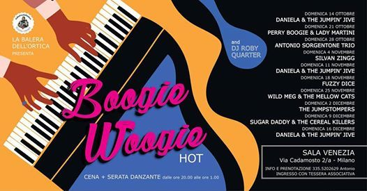 Boogie Woogie Hot con Sugar Daddy and The Cereal Killers